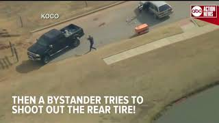 Man posts Facebook Live during Oklahoma City police chase