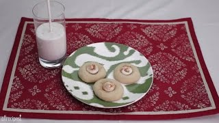 Cookie Recipes - How To Make Eggnog Thumbprints