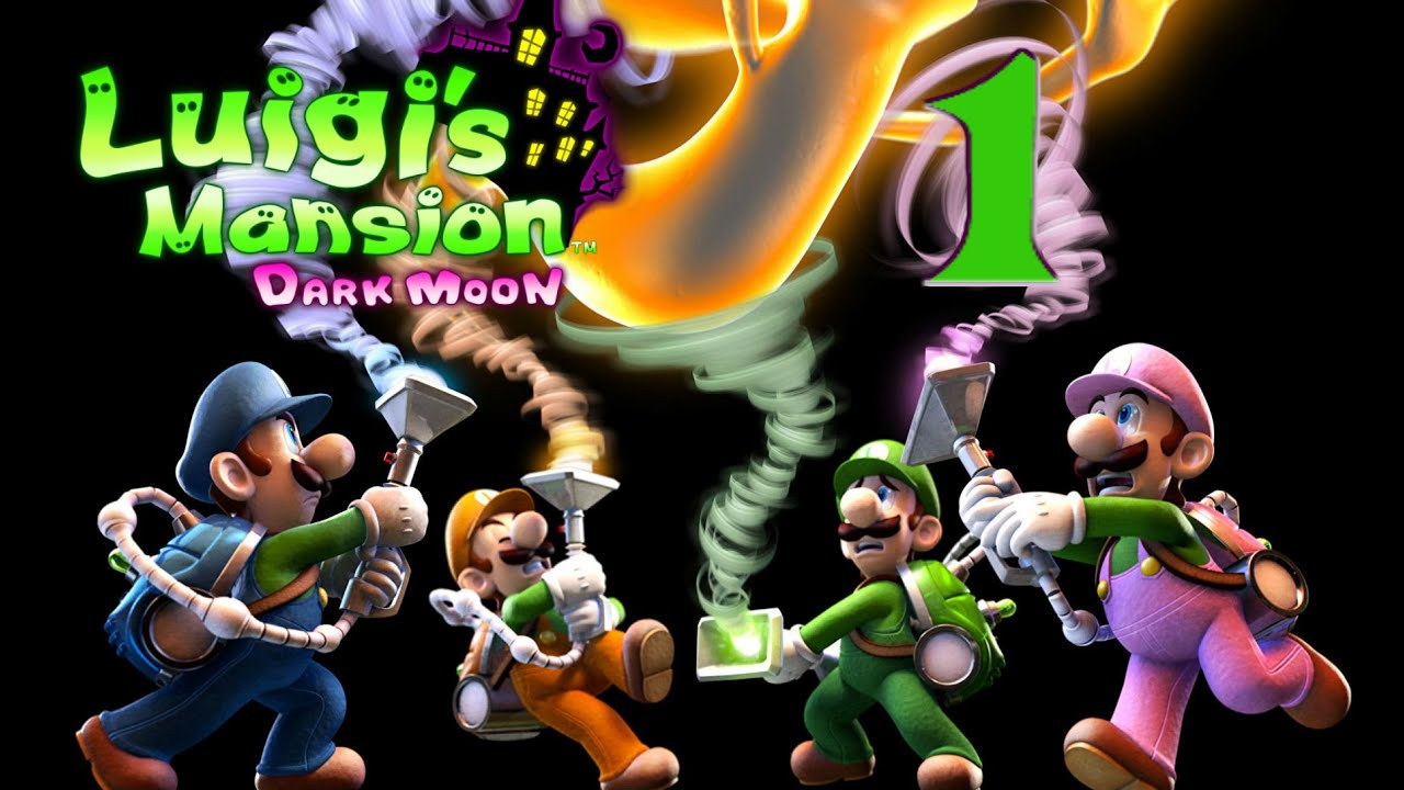 Luigi S Mansion Dark Moon Multiplayer 1 2
