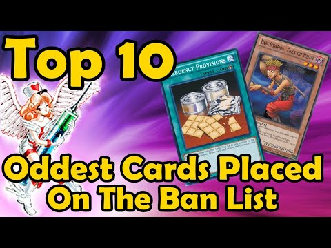 Top 10 Oddest Cards Placed On The Ban List in YuGiOh