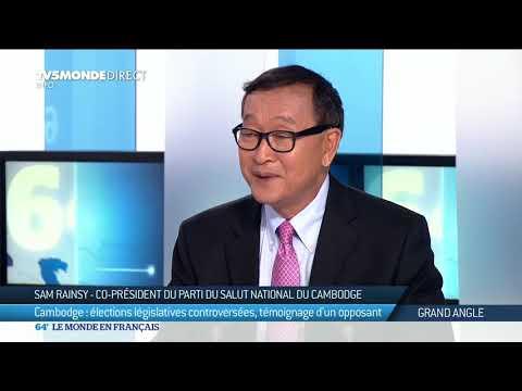 Cambodge : l'opposant Sam  Rainsy conteste les résultats des élections législatives