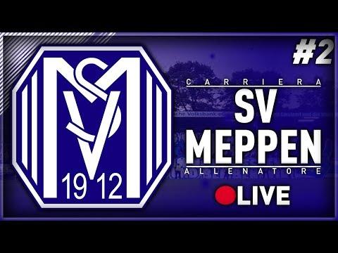 FIFA 18 - CARRIERA ALLENATORE SV MEPPEN IN LIVE #2 - MERCATO E PRIME PARTITE!