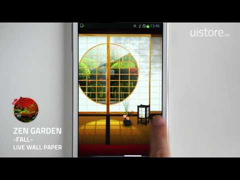 Zen Garden -Fall- LiveWallpaper by uistore.net