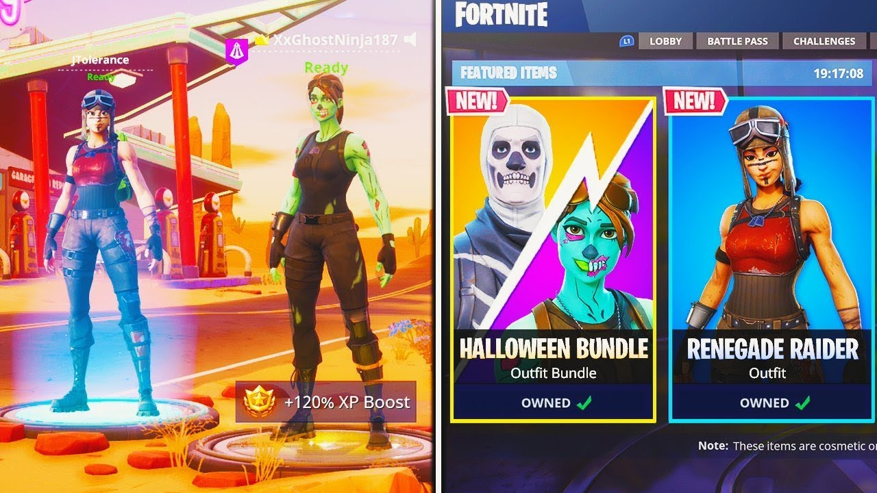 How To Unlock Skull Trooper Renegade Raider Skins In Fortnite