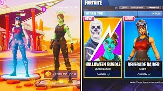 How To Unlock SKULL TROOPER + RENEGADE RAIDER SKINS in Fortnite! (Season 1 Rare Skins Return)