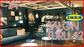 IKEA SALON TURU 2. BÖLÜM : 32 m2 OTURMA ODASI & YEMEK ODASI & KIŞLIK BAHÇE - İç Mimar Sisters