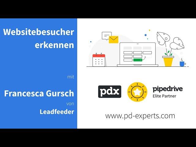 Erkennen der Besucher einer Website mit Leadfeeder