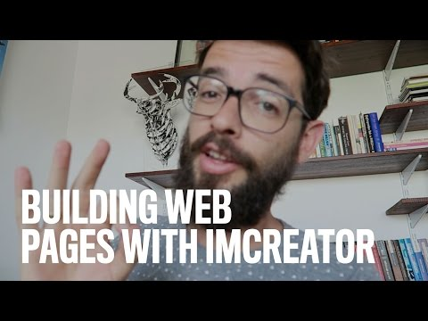 Building Web Pages With IMCREATOR [Vlog 62]