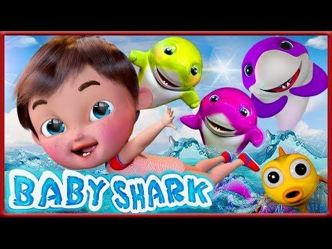 🔴-baby-shark-,-happy-birthday-song-,-wheels-on-the-bus-,-dance-with-me---banana-cartoon