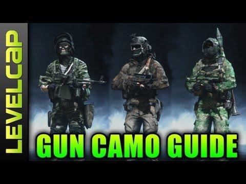 Gun Camo Guide (Battlefield 3 Gameplay/Commentary)