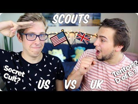 Boy Scouts! British VS American | Evan Edinger & Sammy Paul