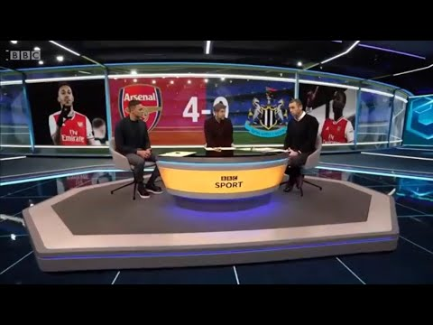 "MOTD Arsenal Vs Newcastle 2-3 Post Match Analysis ""Match Of The Day"