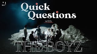 Quick Questions with The Boyz | Metro.co.uk