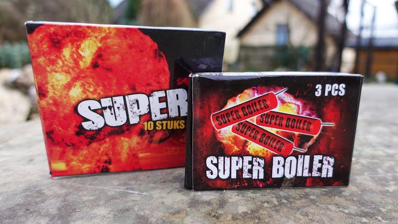 SUPER BOILER vs SUPER 10 | NEUE China Böller testen | *SCHNEE* Location [Full HD]