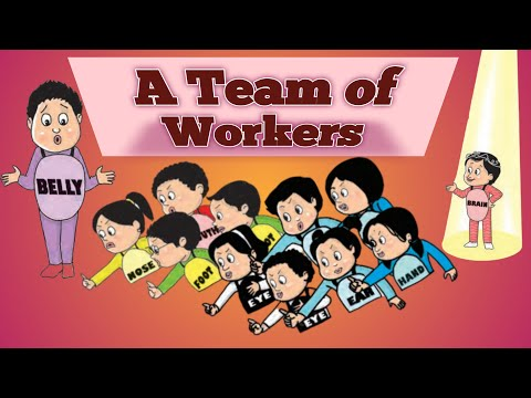 A Team of Workers, Std.-4th,Subject-English