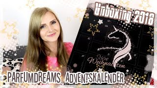 PARFUMDREAMS Adventskalender 2018 Haarpflege UNBOXING