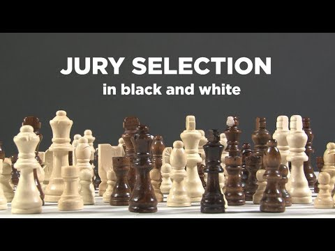 Jury Selection: In black and white (In the Dark)