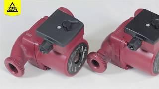 Видеообзор циркуляционного насоса Grundfos UPS 25-40 180 и UPS 25-60 180