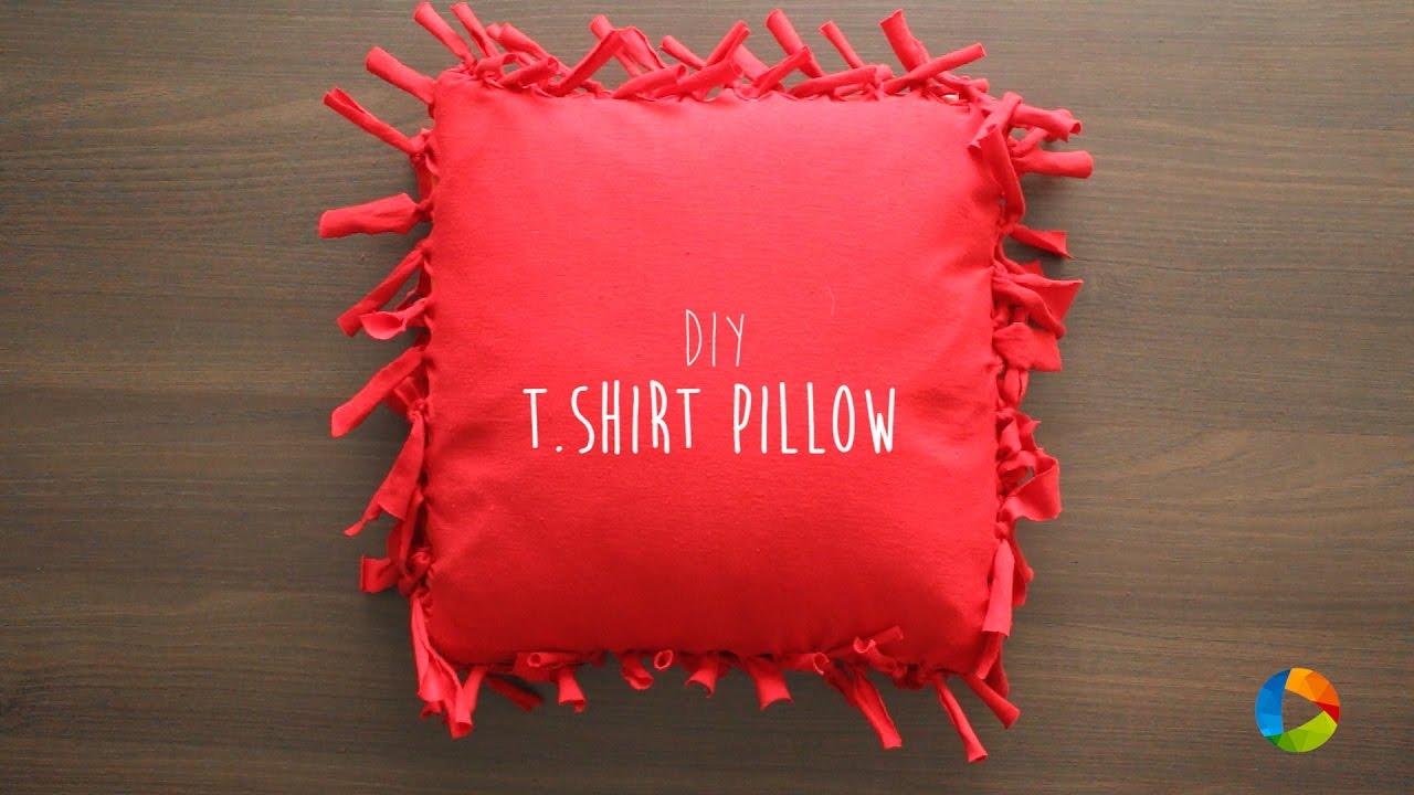 diy t shirt pillow