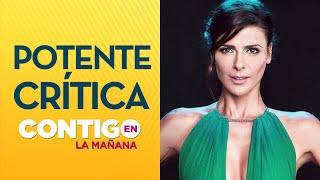 Patricia Maldonado: ''Lo que Tonka Tomicic hizo fue una grosería'' - Contigo en La Mañana