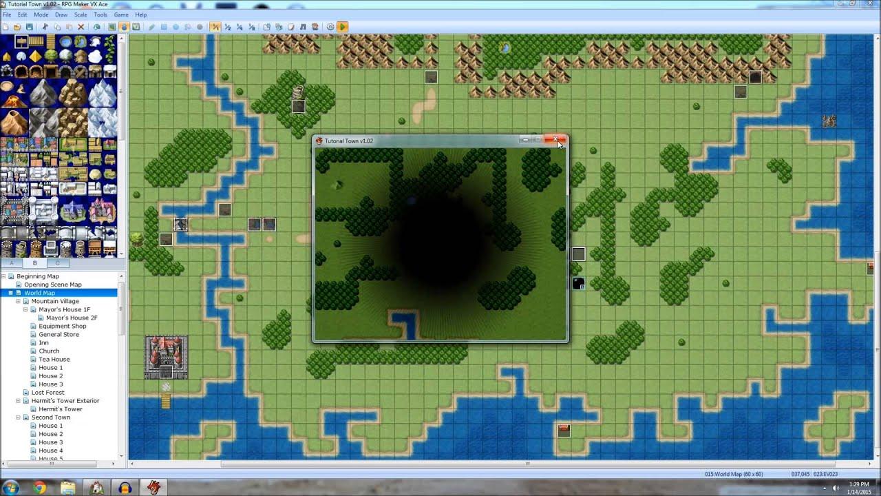 RPG Maker VX Ace Tutorial - Clock integration