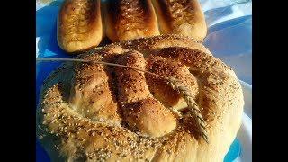 """Испекли хлеб с """"лаптями""""..."""
