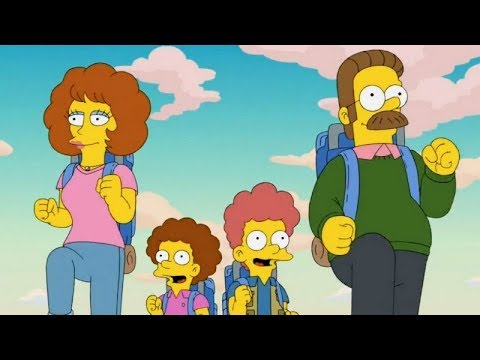 Ned Flanders Enters The Springfield Film Festival