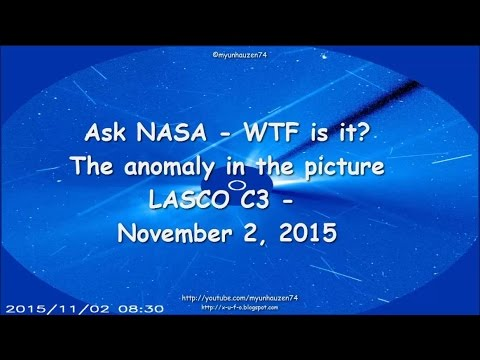 Ask NASA - WTF is it? The anomaly in the...