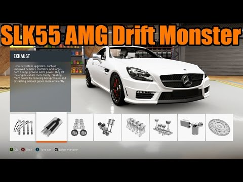 Forza Horizon 2 | Making EK Guess the Drift Car! | SLK55 AMG Drift Build