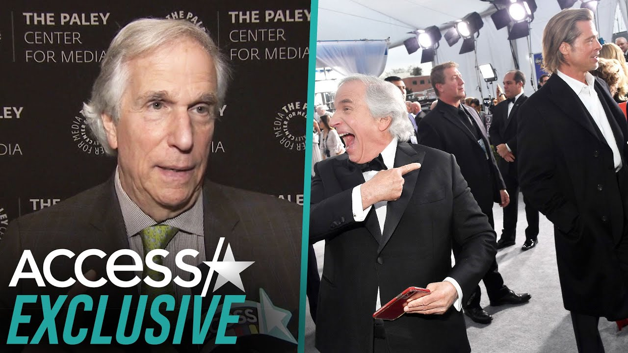 Brad Pitt Made Henry Winkler Starstruck: 'I Was Fanning Over' Him At The SAG Awards