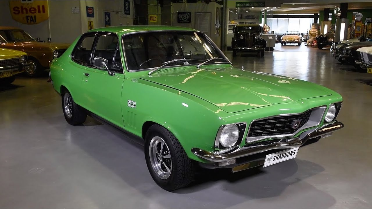 1972 Holden LJ Torana GTR XU-1 2-Door Sedan - 2017 Shannons Sydney Winter Classic Auction