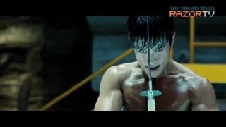 Lee Byung Hun flaunts his abs in G.I. Joe 2