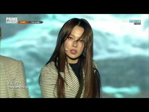 (1080p) KARD - You In Me 180228 MBC Every1 K-POP WORLD FESTA PRIME CONCERT
