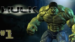 The Incredible Hulk - Walkthrough - Part 1 (PC) [HD]