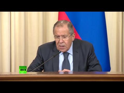 Conférence de presse de Sergueï Lavrov et son homologue burundais
