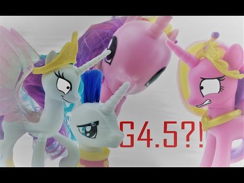 My Little Pony G4 5 Review (Cadence, Shining Armor, Fluttershy, & Celestia)