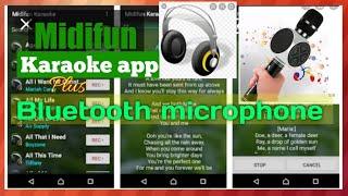 Midifun karaoke app + bluetooth microphone speaker..... screenshot 5