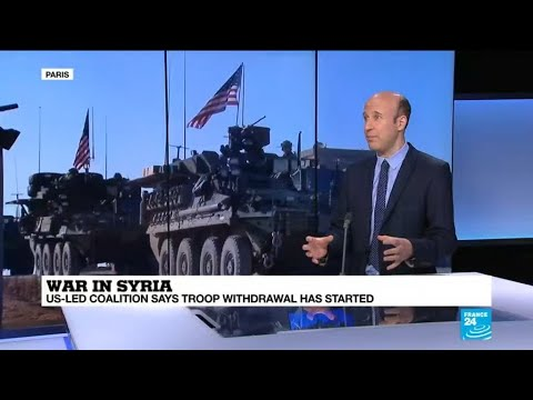 Syria: US-led coalition says troop withdrawal has begun