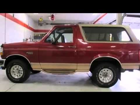1995 FORD BRONCO Denver CO