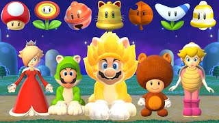 Super Mario 3D World + Bowser's Fury - All Characters Power-Ups