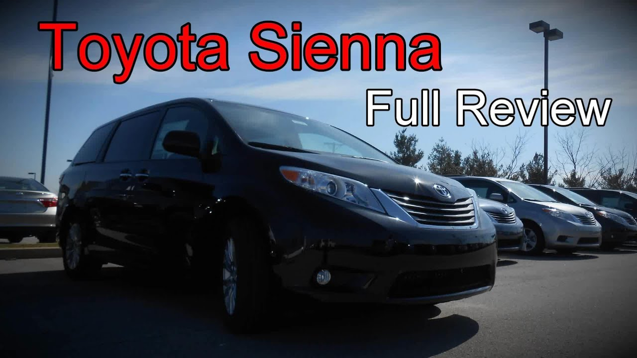 2016 Toyota Sienna Full Review L Le Se Xle Limited Premium