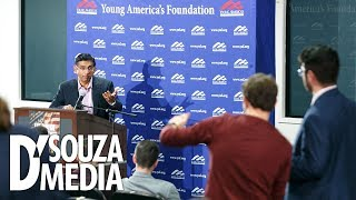 NO HOLDS BARRED: Dinesh D'Souza's top 5 campus moments from Fall 2018
