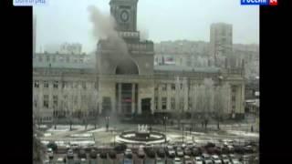 Камера наблюдения сняла взрыв на вокзале в Волгограде