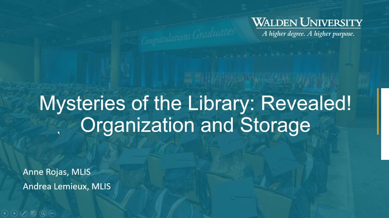 Webinars on Library Skills - Library Webinar Archives - Academic