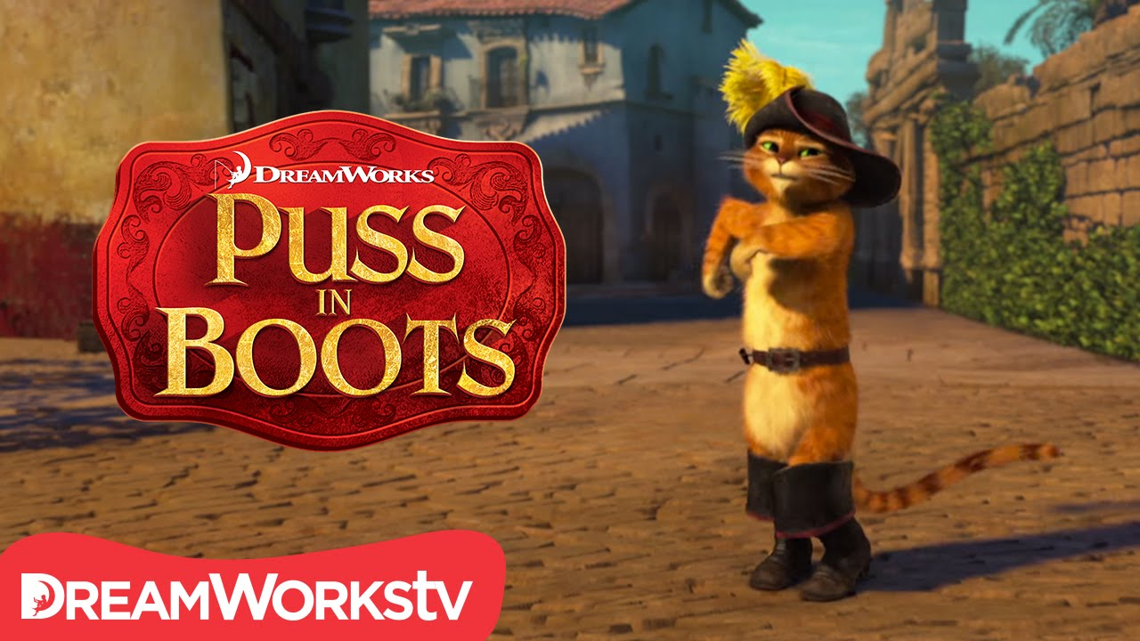 just dance! | new puss in boots - youtube