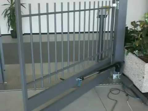 tau dual swing gate motors for sale youtube