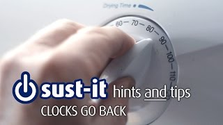 Clocks back soon – in the dark about energy costs?