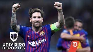 Los mejores momentos de Lionel Messi en la UEFA Champions League