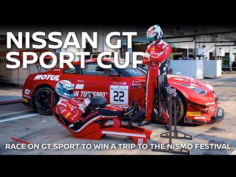 ENTER THE NISSAN GT SPORT CUP!