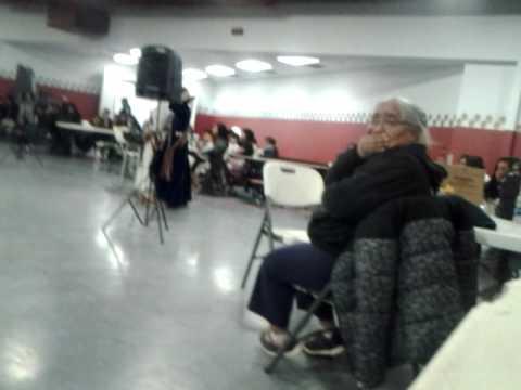 Navajo presination at winslow high school